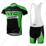 2015 Team HTC MERIDA Cycling Bib Kit Black Green