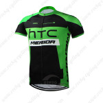 2015 Team HTC MERIDA Cycling Jersey Black Green
