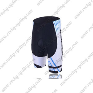 2015 Team ORBEA Cycling Shorts White
