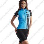 2015 Team ASSOS Ladies' Cycling Kit Blue