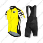 2016 Team ASSOS Cycle Bib Kit Yellow