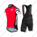 2016 Team ASSOS Riding Bib Kit Red