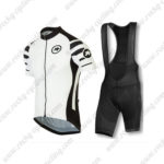 2016 Team ASSOS Riding Bib Kit White