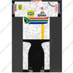 2014 Team MTN South Africa Cycling Kit White