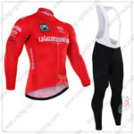 2016 GIRO O'Italia LaGazzettadello Sport Cycling Long Bib Suit Red
