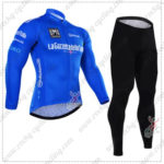 2016 GIRO O'Italia LaGazzettadello Sport Cycling Long Suit Blue