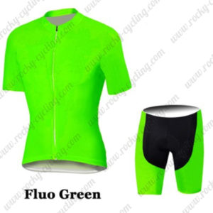 2016 Pro Cycling Kit Fluo Green