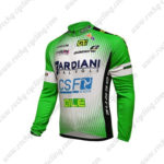 2016 Team BARDIANI CSF Cycling Long Jersey Maillot Green