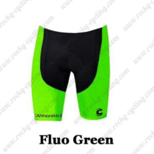 2016 Team Cannondale Cycle Shorts Bottoms Fluo Green
