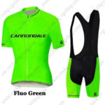 2016 Team Cannondale Riding Bib Kit Fluo Green