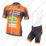 2016 Team Color Code Cycling Bib Kit Orange