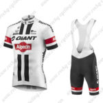 2016 Team GIANT Alpecin Pro Cycling Bib Shorts White