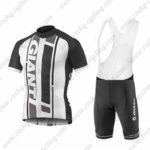 2016 Team GIANT Riding Bib Kit White Black