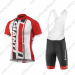 2016 Team GIANT Riding Bib Kit White Red