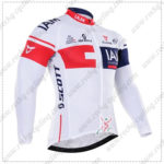 2016 Team IAM Cycling Long Jersey Maillot Shirt White
