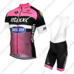 2016 Team etixxl QUICK STEP Cycle Bib Kit Pink