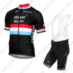 2016 Team etixxl QUICK STEP Cycling Bib Kit Black