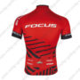 2016 Team FOCUS Cycle Jersey Maillot Shirt Red Black