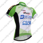 2017 Team BARDIANI CSF Cycle Jersey Maillot Shirt Green White Black