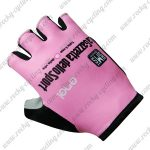 2017 Team LaGazzetta dello Sport Cycling Gloves Mitts Pink