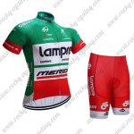 2017 Team Lampre MERIDA Cycle Kit Green Red