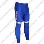 2017 Team QUICK STEP Cycle Pants Tights Blue