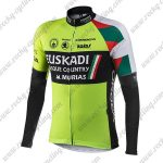 2018 Team EUSKADI Cycling Long Jersey