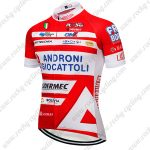 2017 Team ANDRONI GIOCATTOLI Riding Clothing Cycling Jersey Shirt Red