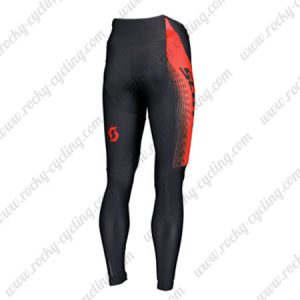 2019 SCOTT RC Team Cycle Outfit Riding Long Pants Tights Black Red