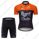 2019 Team Roompot Charles Cycling Clothing Riding Kit Orange Black