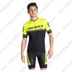 2019 Team SCOTT Riding Outfit Cycle Kit Yellow Black