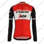 2019 Team TREK Segafredo Biking Outfit Riding Long Sleeves Jersey Red