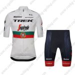 2019 Team TREK Segafredo Santini Portugal Riding Outfit Biking Kit White