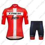 2019 Team TREK Segafredo Santini Switzerland Riding Apparel Kit Red