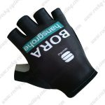 2019 Team BORA hansgrohe Riding Gloves Cycle Mitts Black