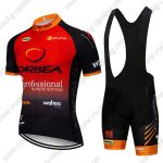 2019 Team ORBEA Riding Outfit Cycle Clothing Bib Kit Red Black