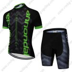 2019 Team Cannondale Cycling Clothing Set Riding Apparel Kit Black Green