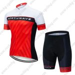2019 Team NORTHWAVE NW Cycling Wear Set Riding Kit White Red